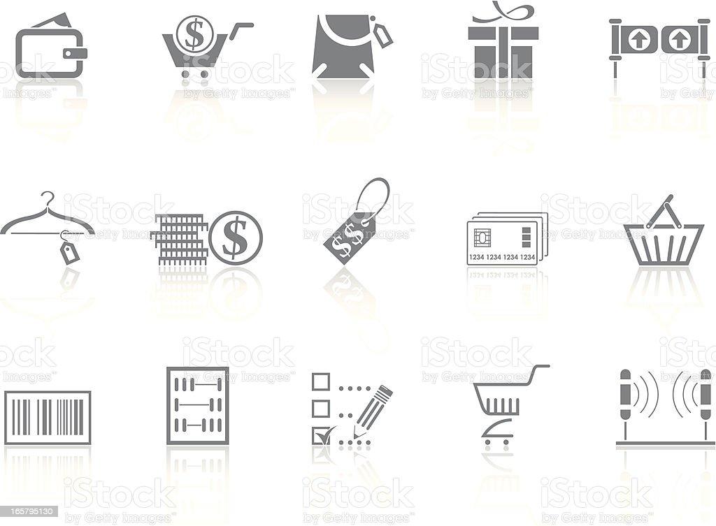 Simplicity > Shopping royalty-free stock vector art