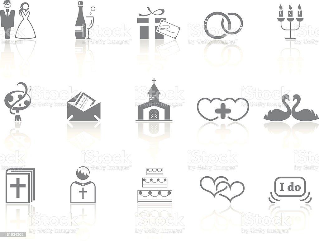 Simplicity > Wedding royalty-free stock vector art