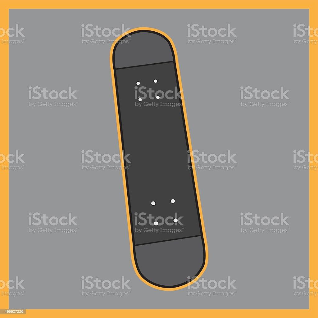 skateboard vector 01 vector art illustration