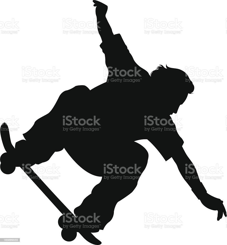 skateboarder royalty-free stock vector art