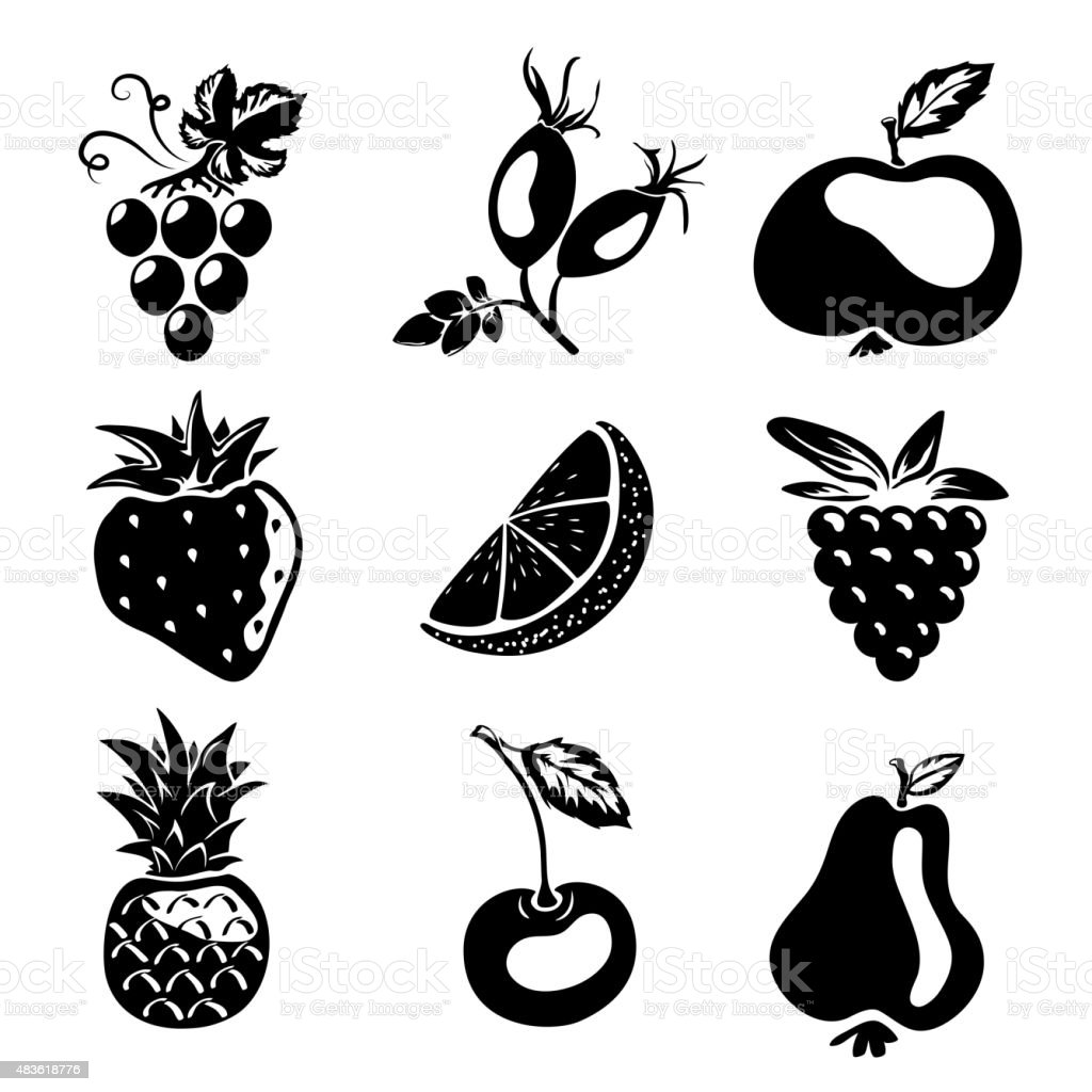 Sketch style silhouettes vector art illustration
