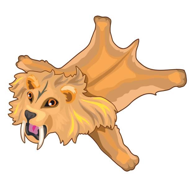 Saber Tooth Tiger Clip Art, Vector Images & Illustrations ...