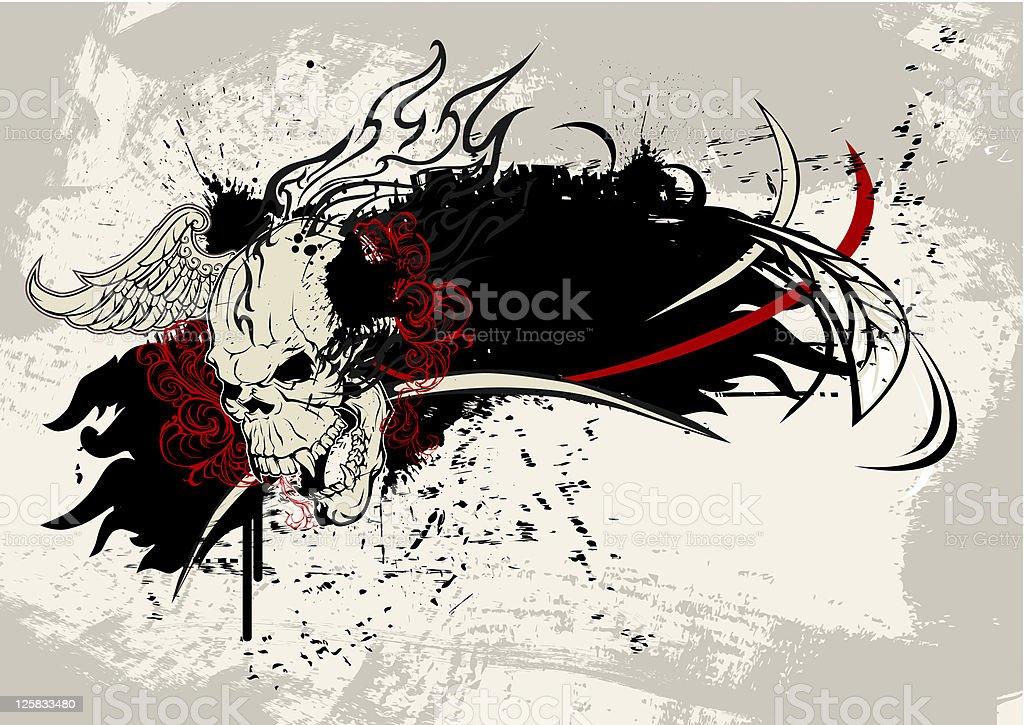 skull royalty-free stock vector art