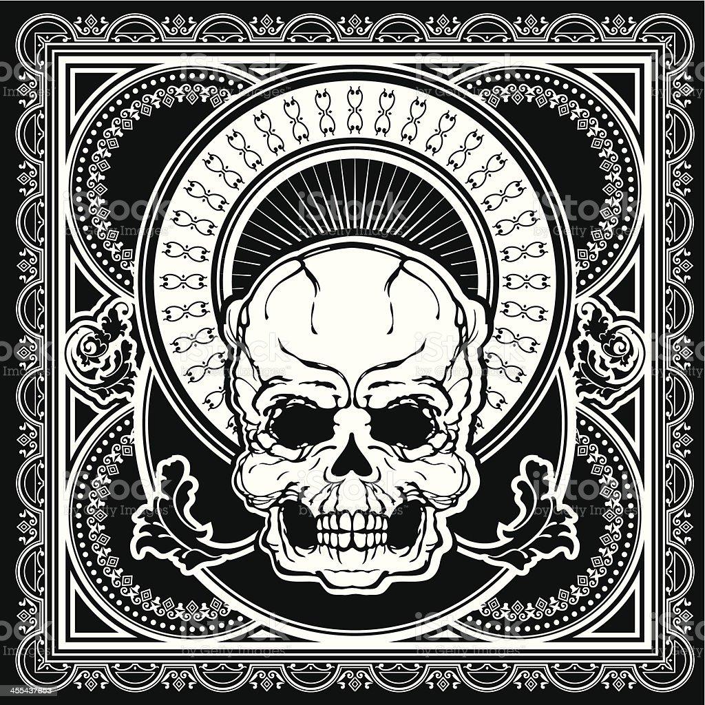skull vector vector art illustration