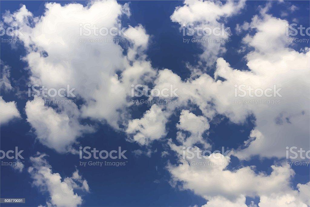 Sky background royalty-free stock vector art