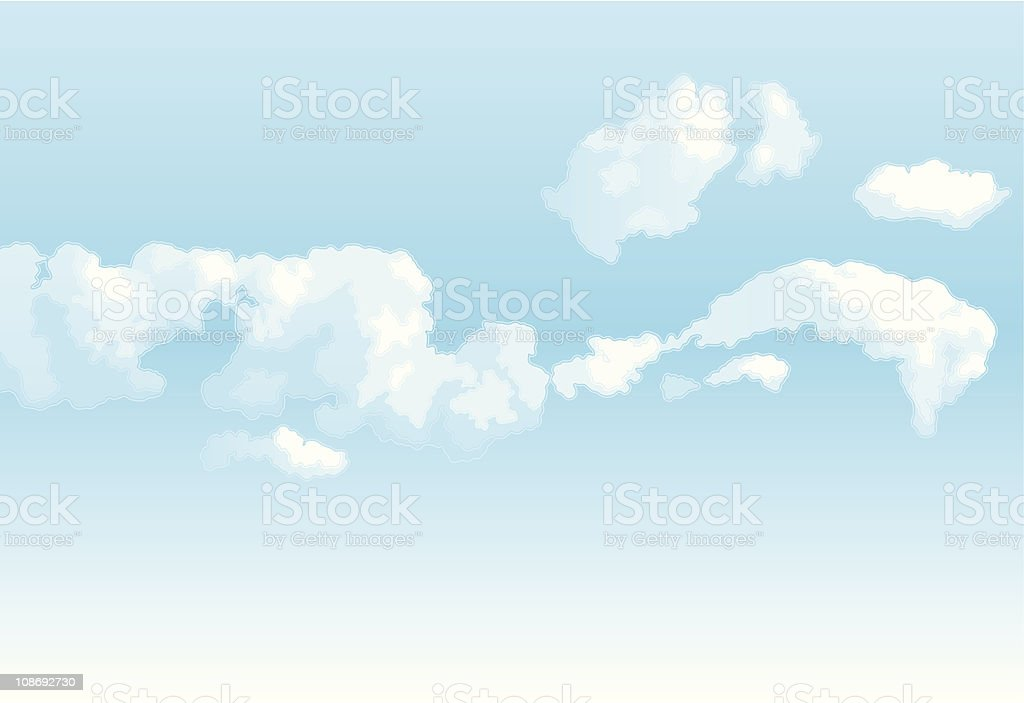 Sky royalty-free stock vector art