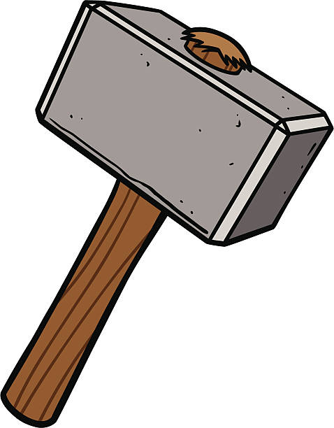 Sledgehammer Clip Art, Vector Images & Illustrations - iStock