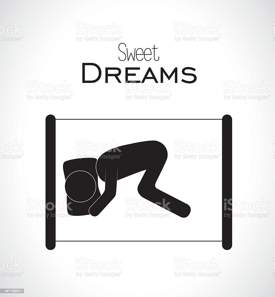 sleep design royalty-free stock vector art