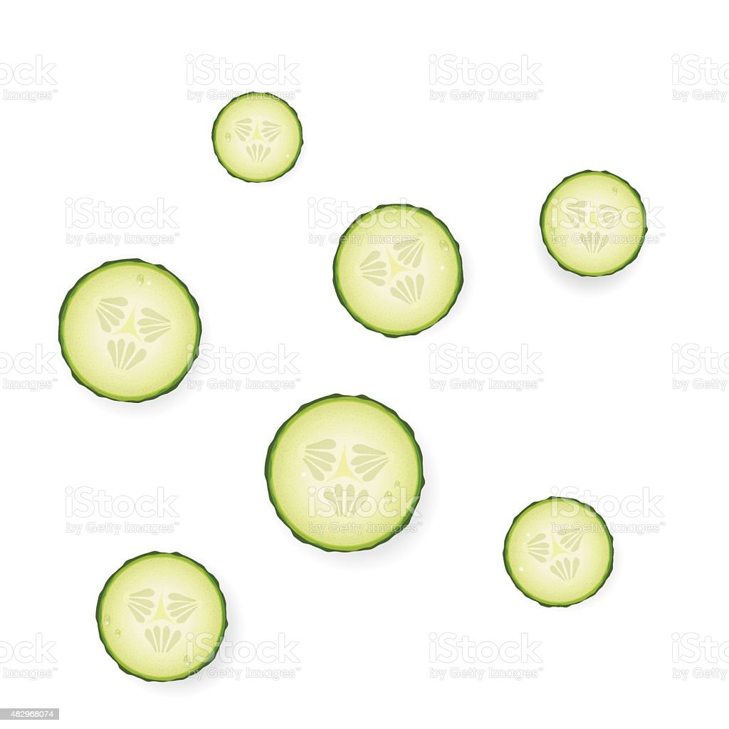 slice vector art illustration