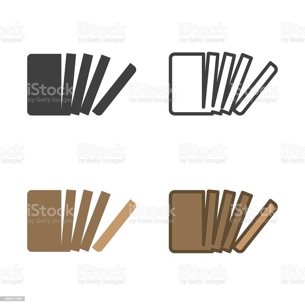 Sliced Bread Icon vector art illustration