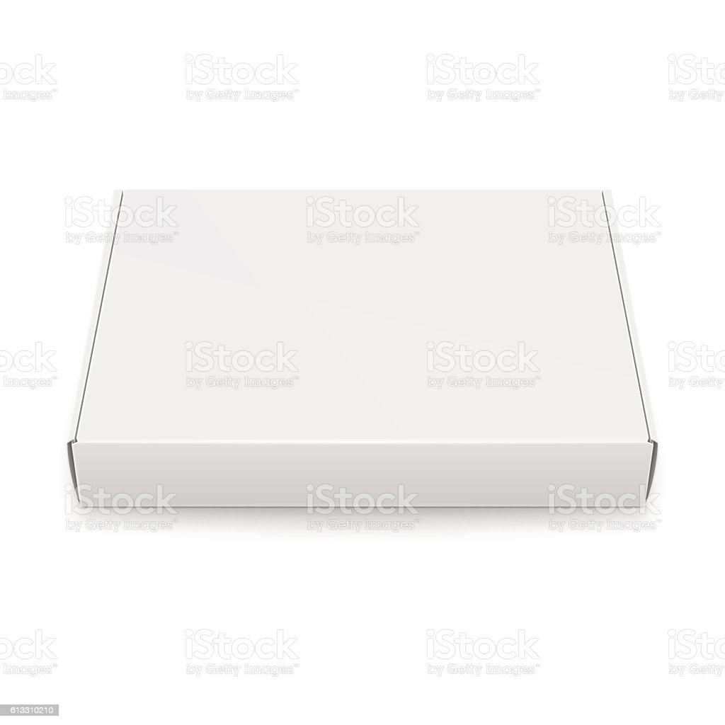 slim cardboard box template stock vector art 613310210 istock