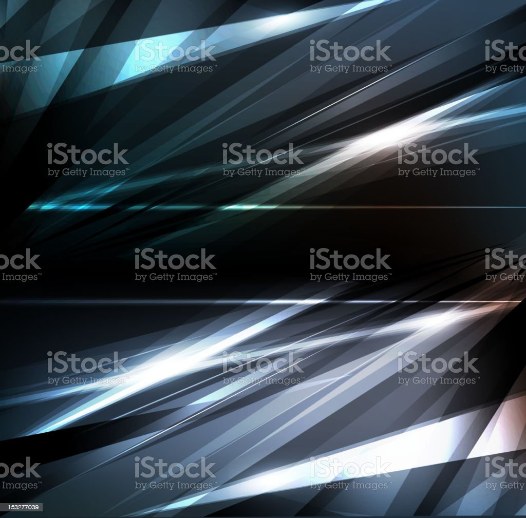 A sliver modern abstract design royalty-free stock vector art