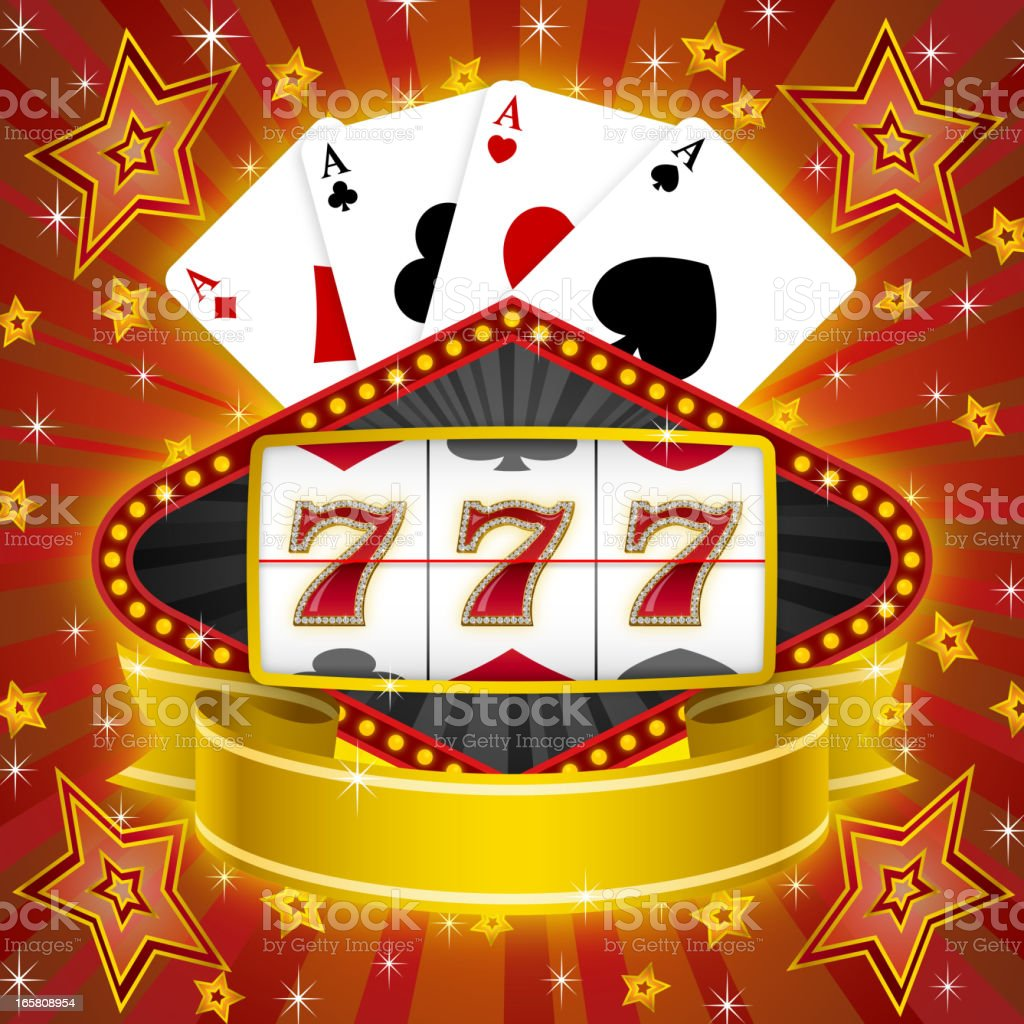 Slot Machine royalty-free stock vector art