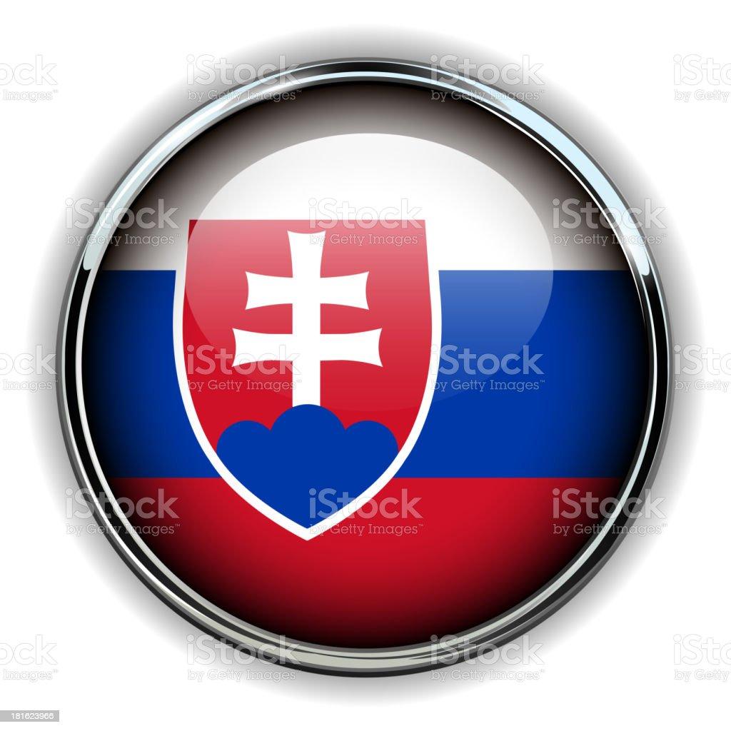 Slovakia button royalty-free stock vector art