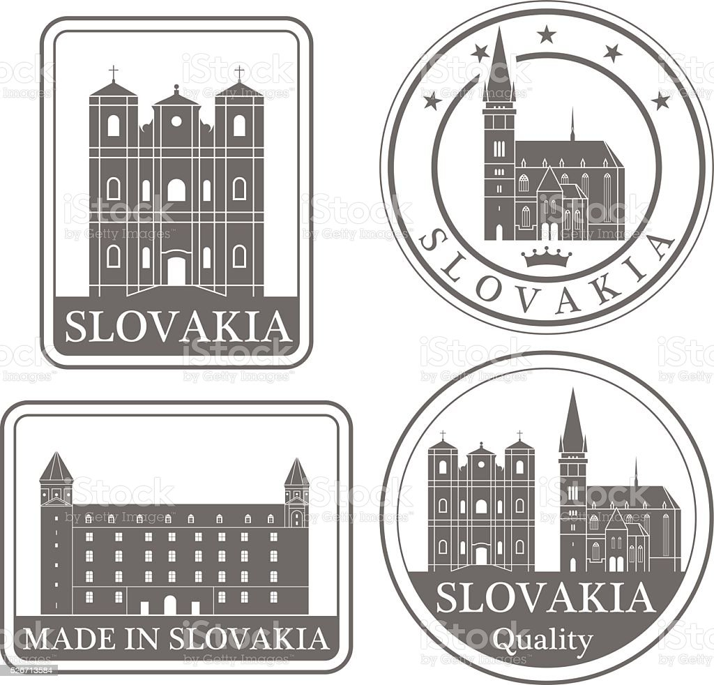 Slovakia vector art illustration