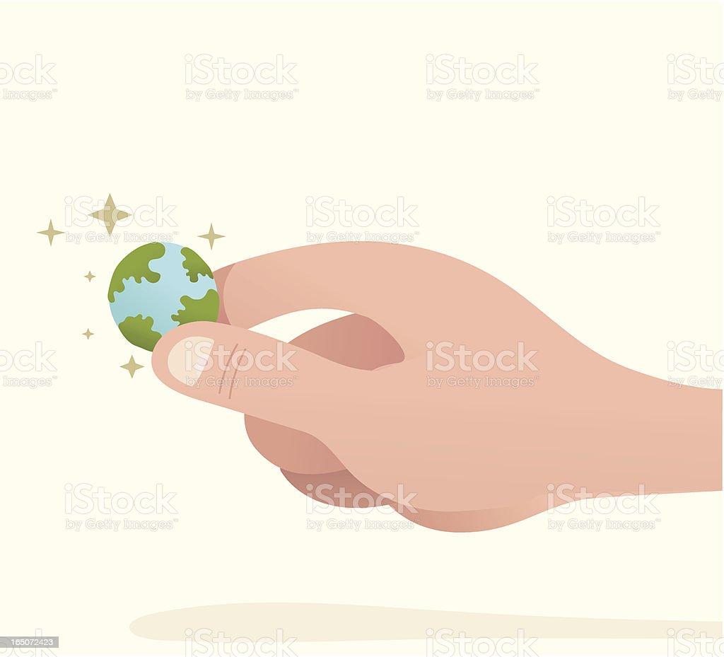 Small World royalty-free stock vector art