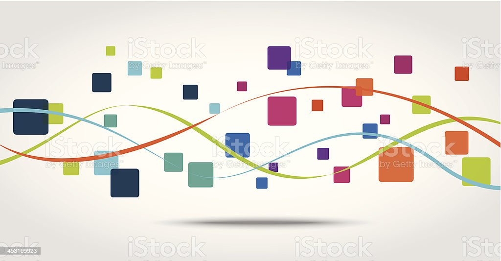 Smart phone apps icon concept background vector art illustration