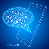 Smart Phone. Communications technology