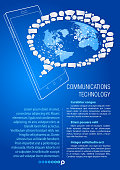 Smart Phone. Communications technology.
