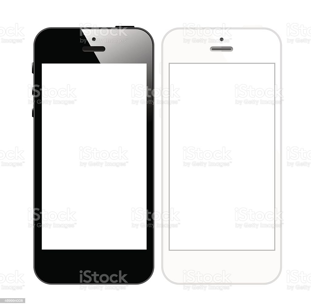 Smart Phone Mobile Vector vector art illustration