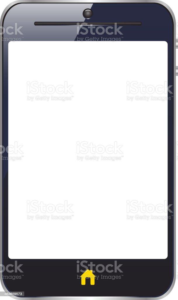 smart phone royalty-free stock vector art