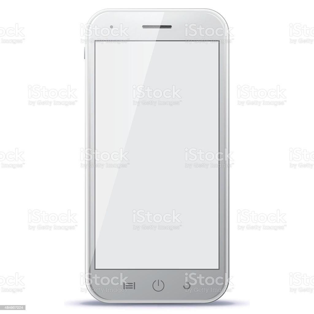 Smart Phone Vector Illustration. vector art illustration