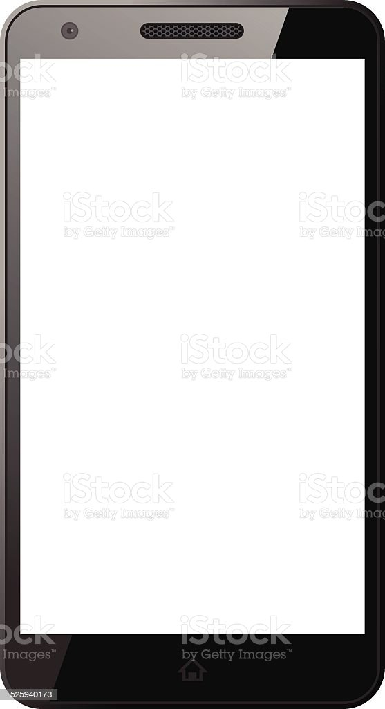 Smart phone - VECTOR vector art illustration