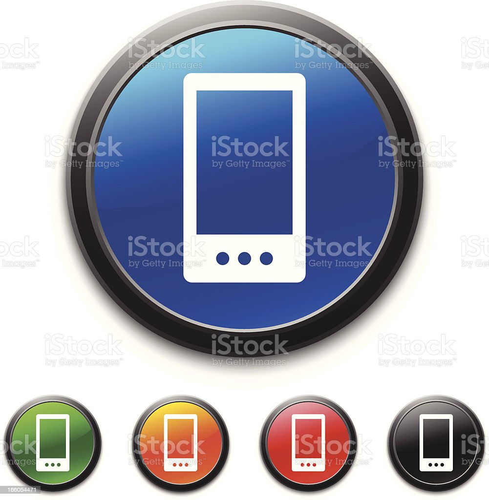 Smartphone icon royalty-free stock vector art