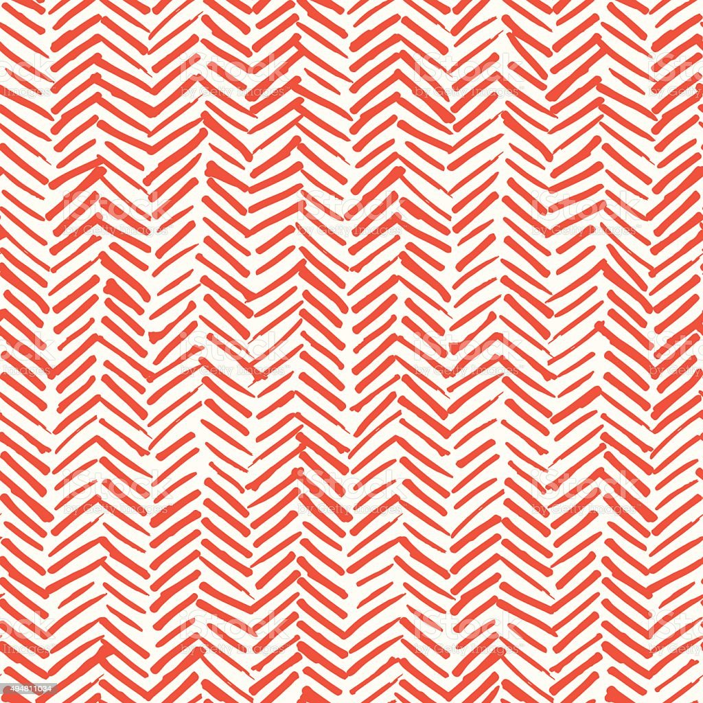 Smeared herringbone seamless pattern design vector art illustration