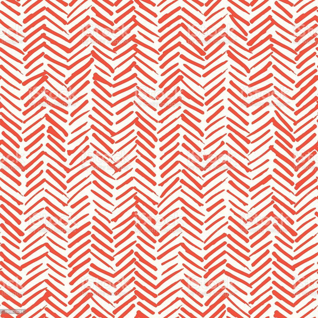 Smeared herringbone seamless pattern design vector art illustration