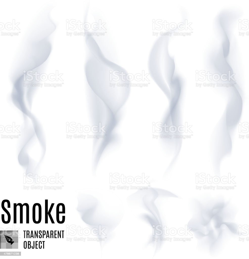Smoke vector art illustration