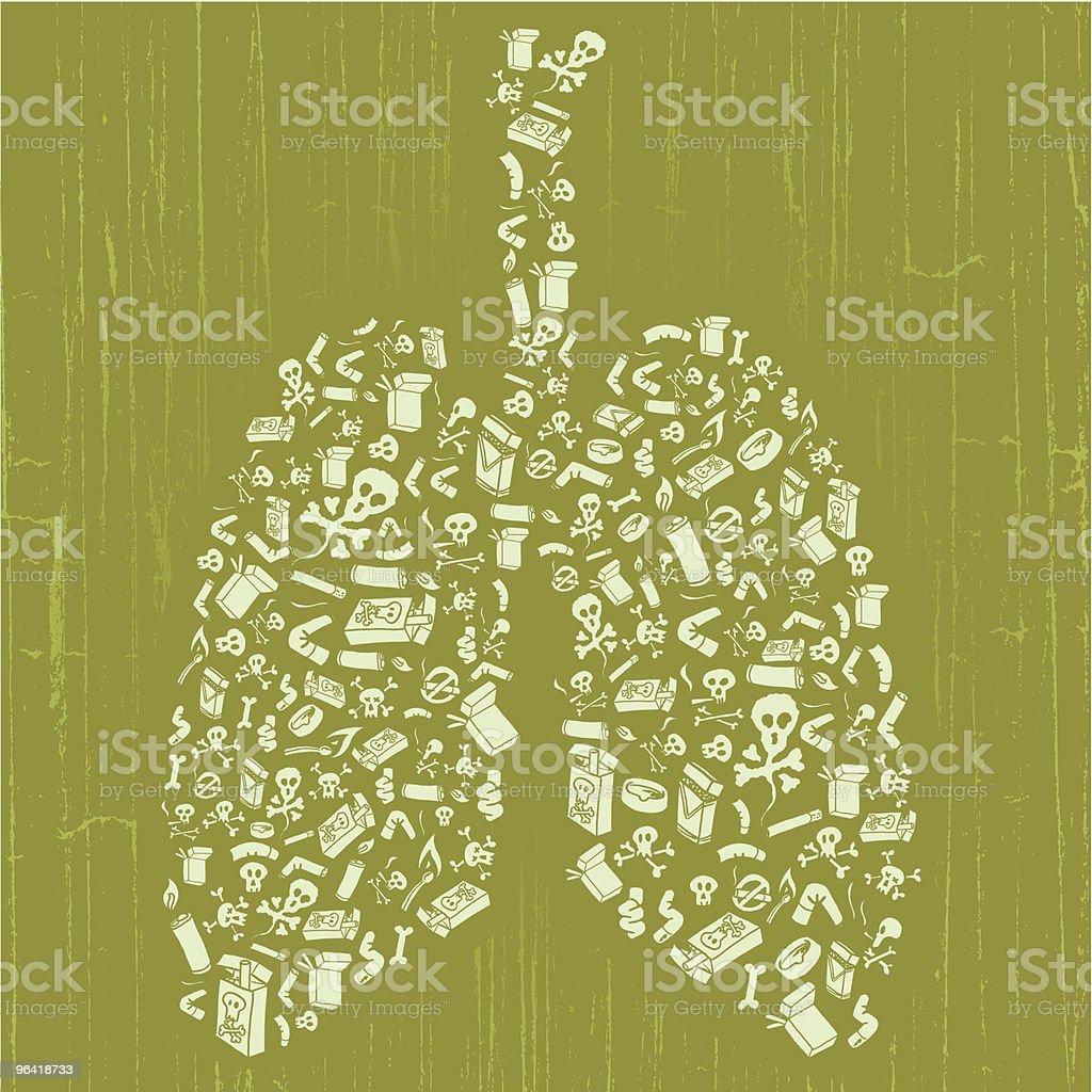 Smoking Bad, m'okay? royalty-free stock vector art