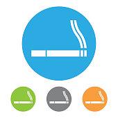 Smoking sign. Vector