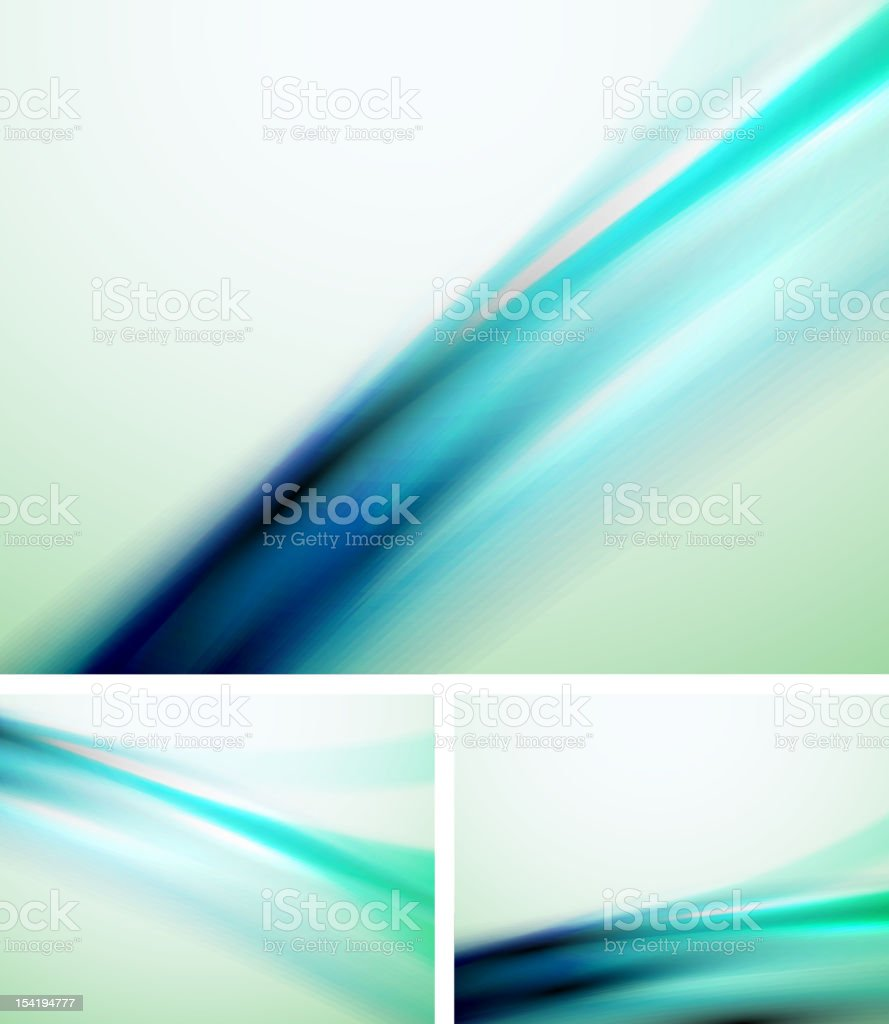 Smooth blue background royalty-free stock vector art