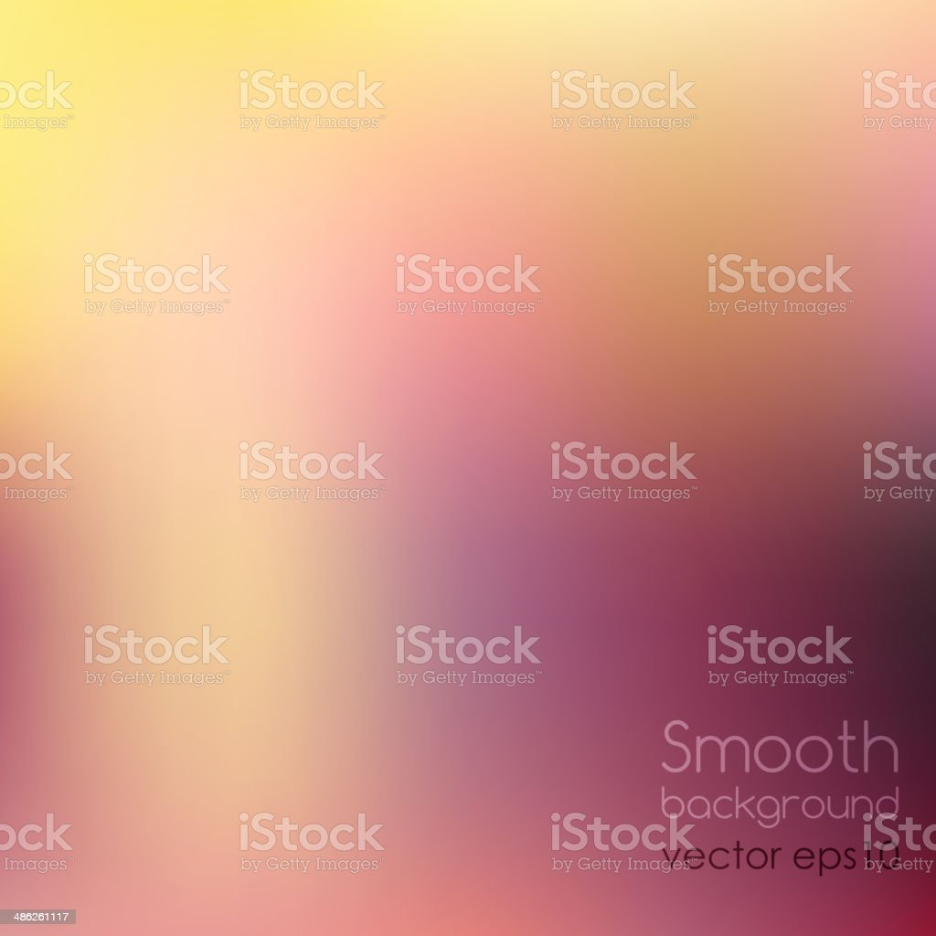 Smooth colorful background vector art illustration
