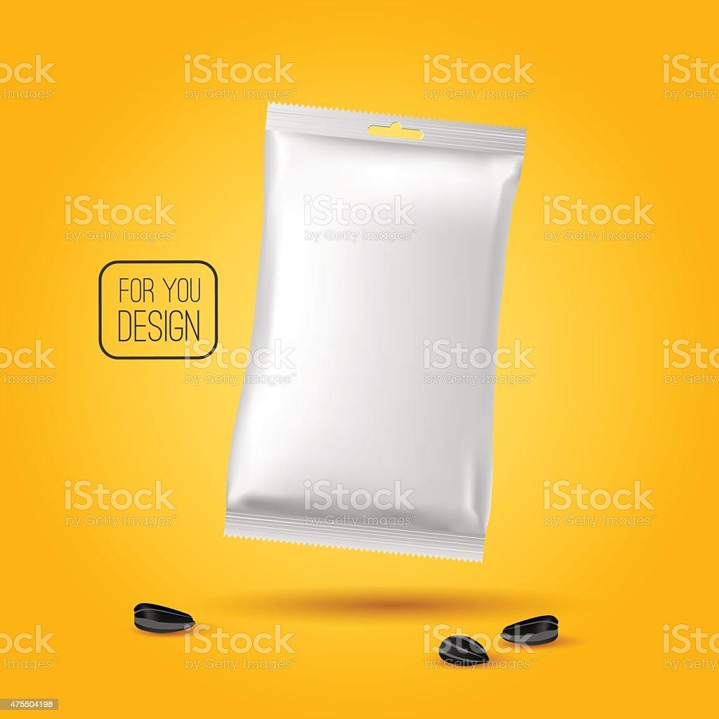 Snack pack vector art illustration