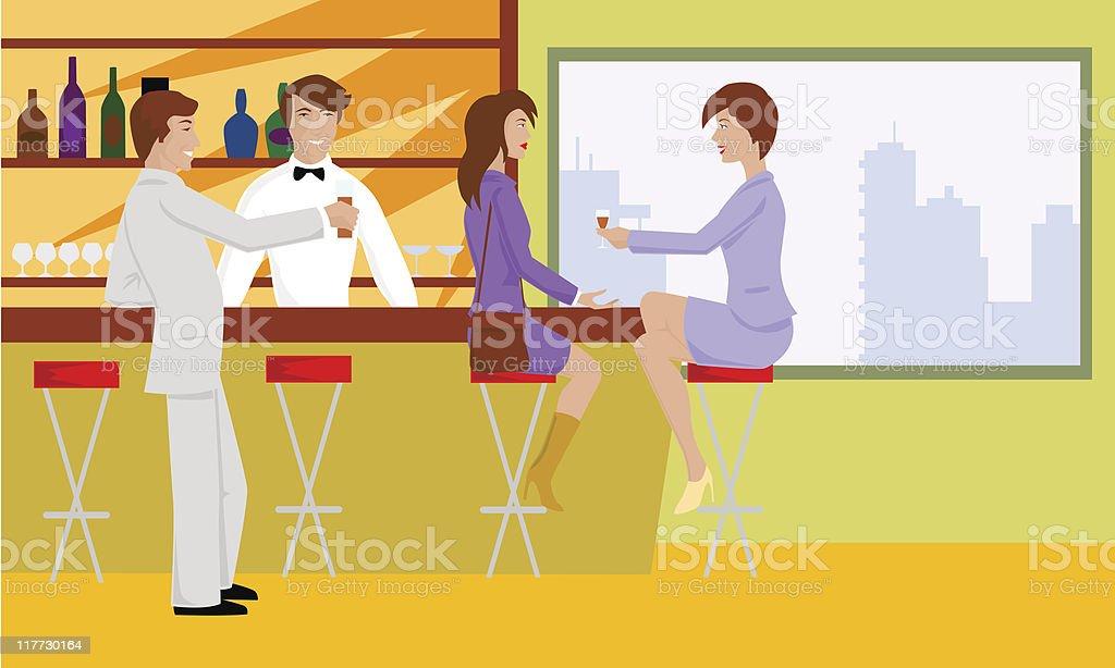 snackbar vector art illustration