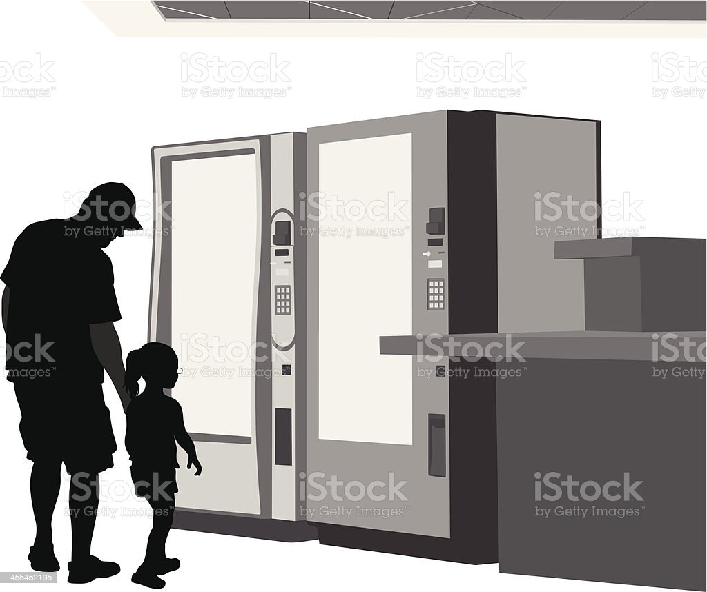Snacks Vector Silhouette vector art illustration