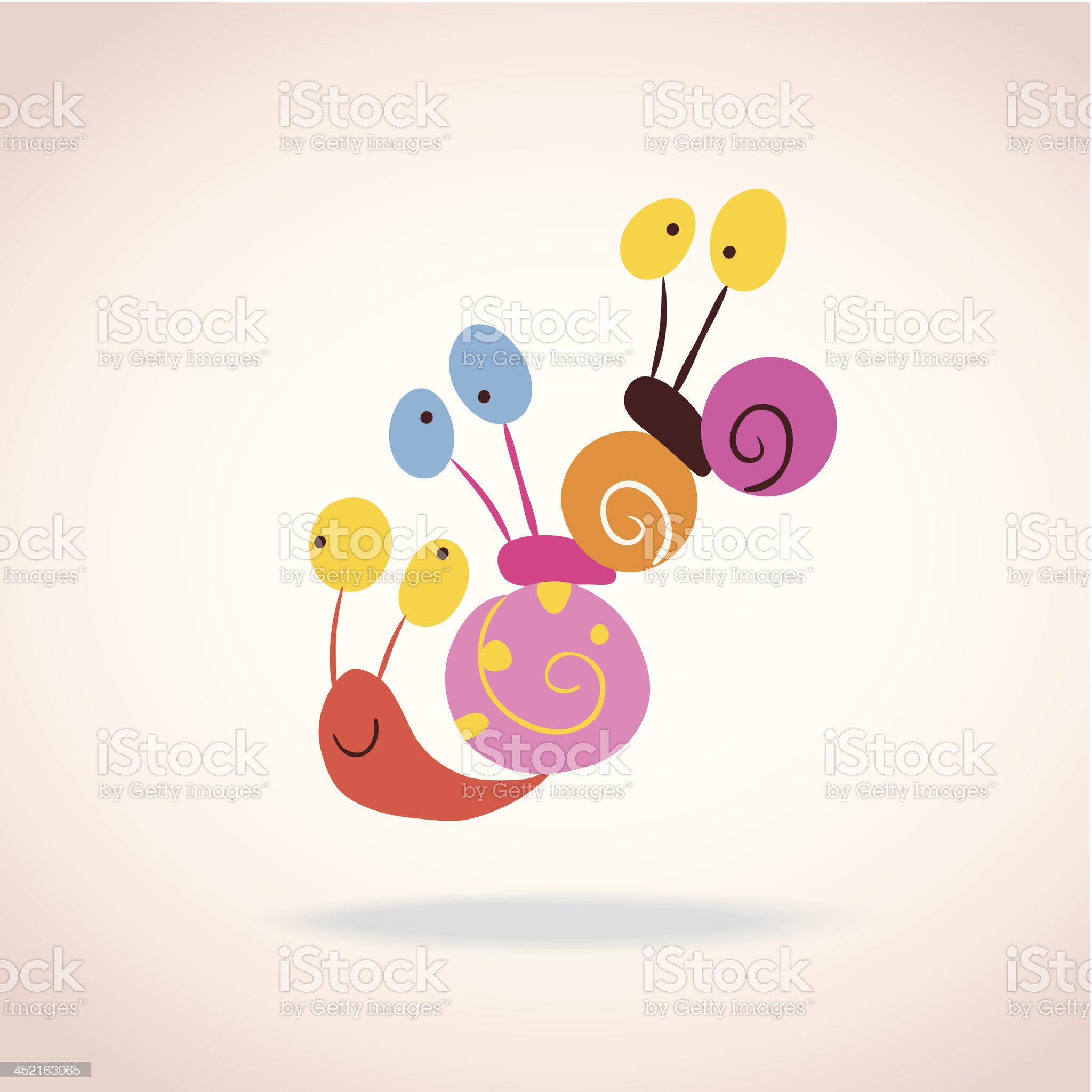 snail characters royalty-free stock vector art