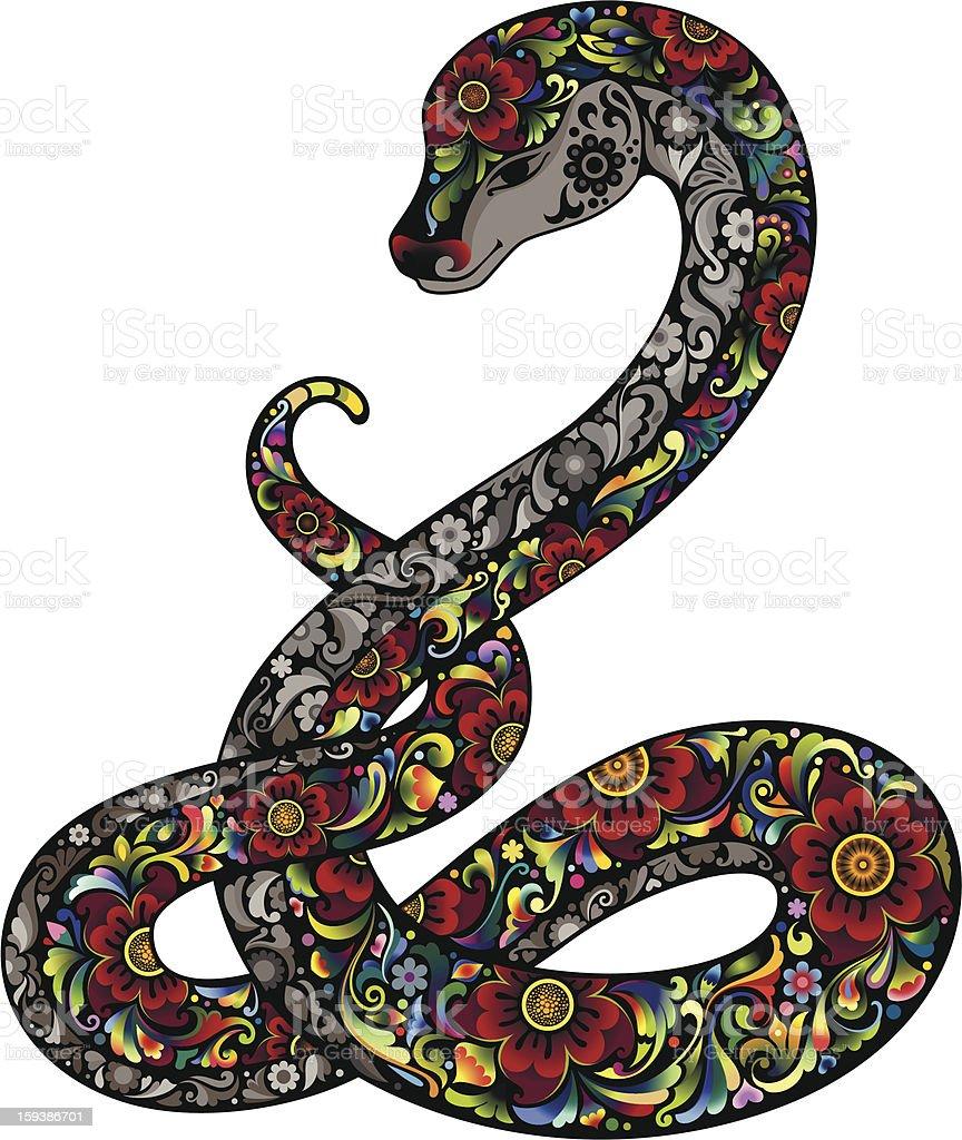 Декор змеи