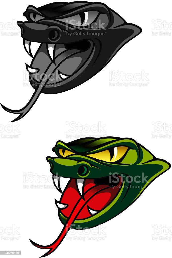 Snake head royalty-free stock vector art