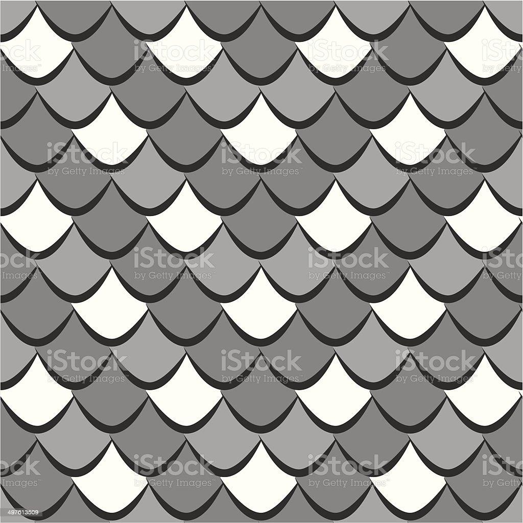 Snake skin seamless pattern vector art illustration