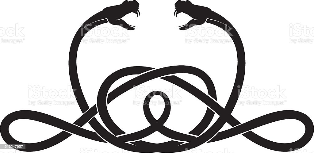 snake vector vector art illustration