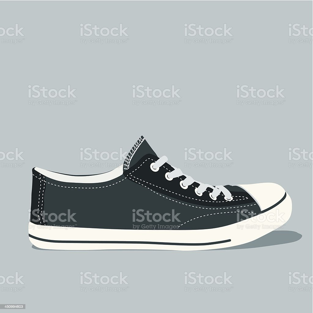 Sneaker royalty-free stock vector art