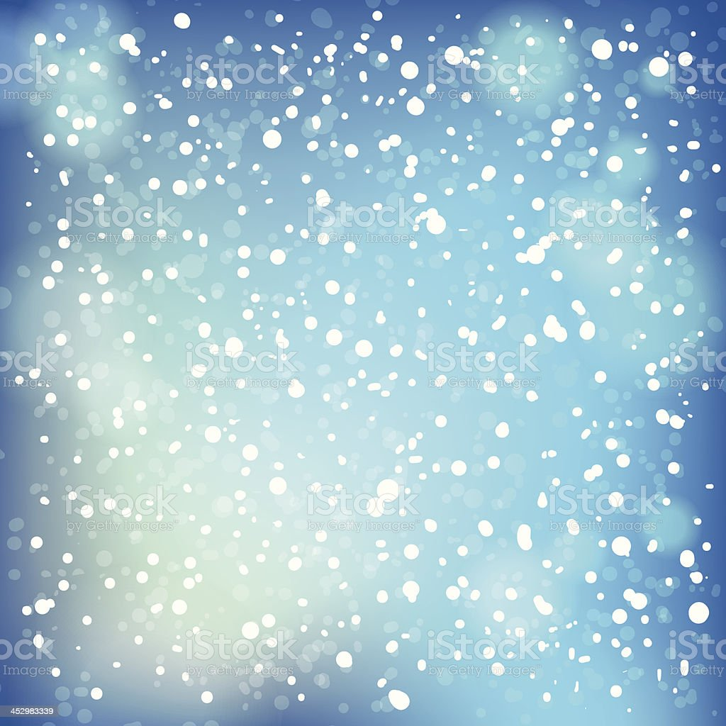 Snow and soft highlights background. royalty-free stock vector art