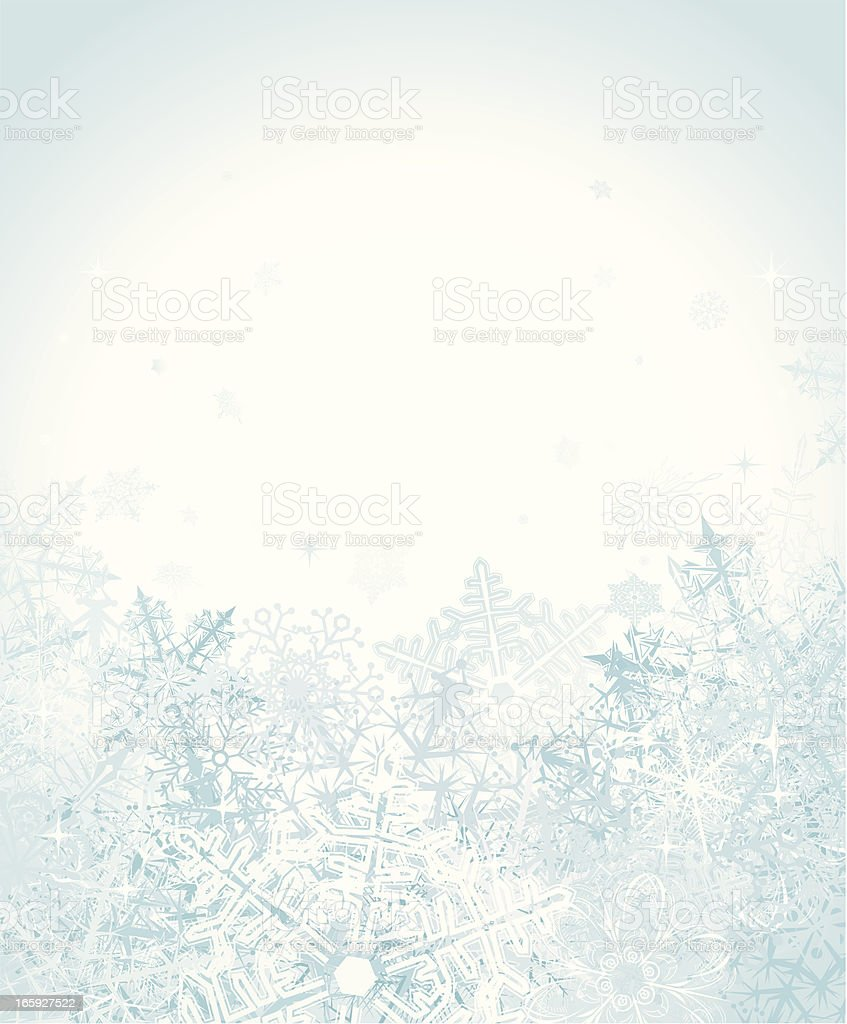 Snow Background royalty-free stock vector art