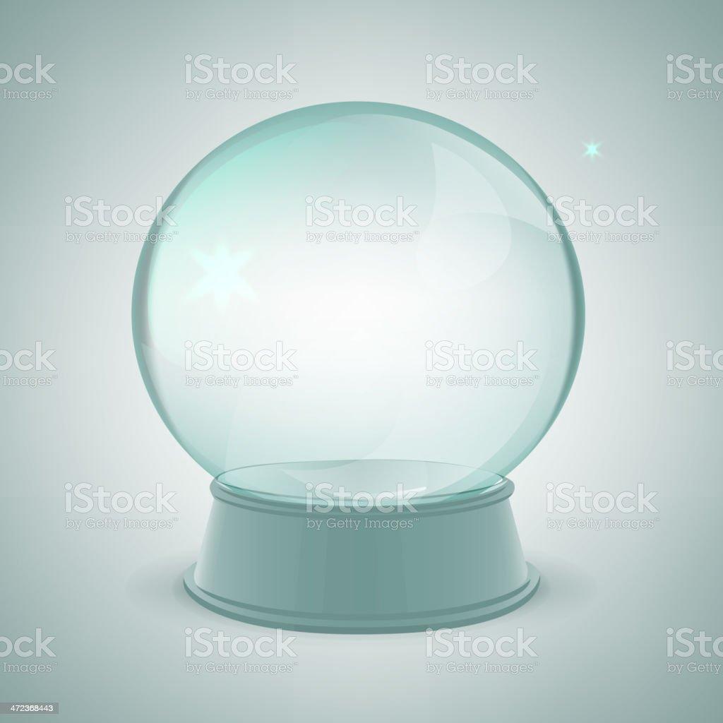 Snow ball royalty-free stock vector art