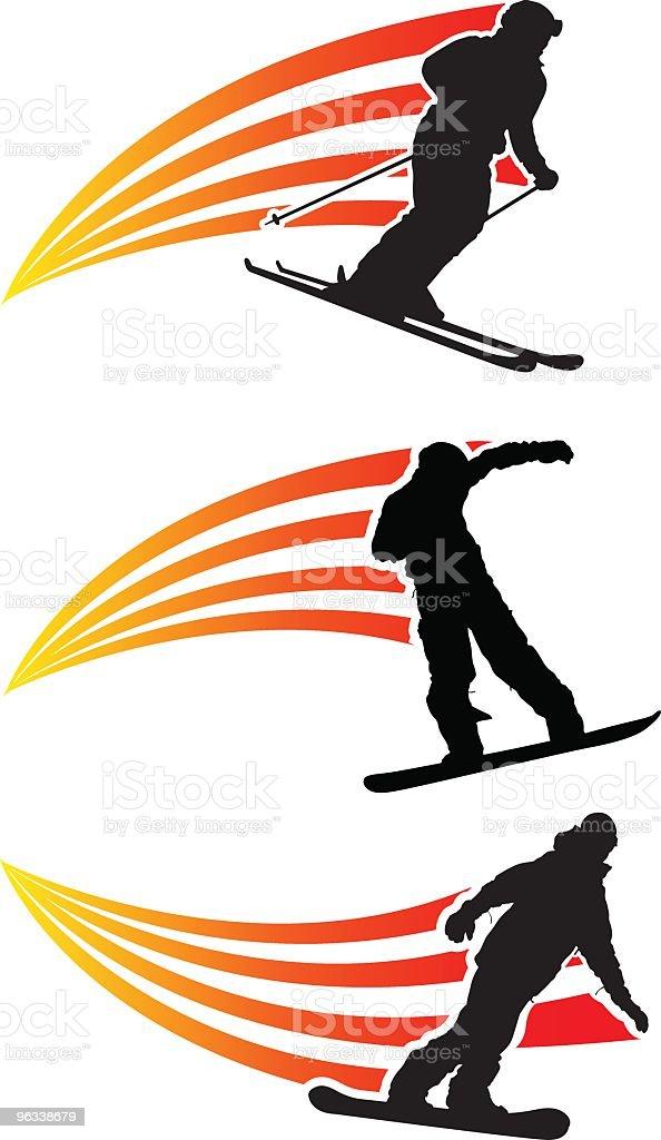 Snow Graphics royalty-free stock vector art