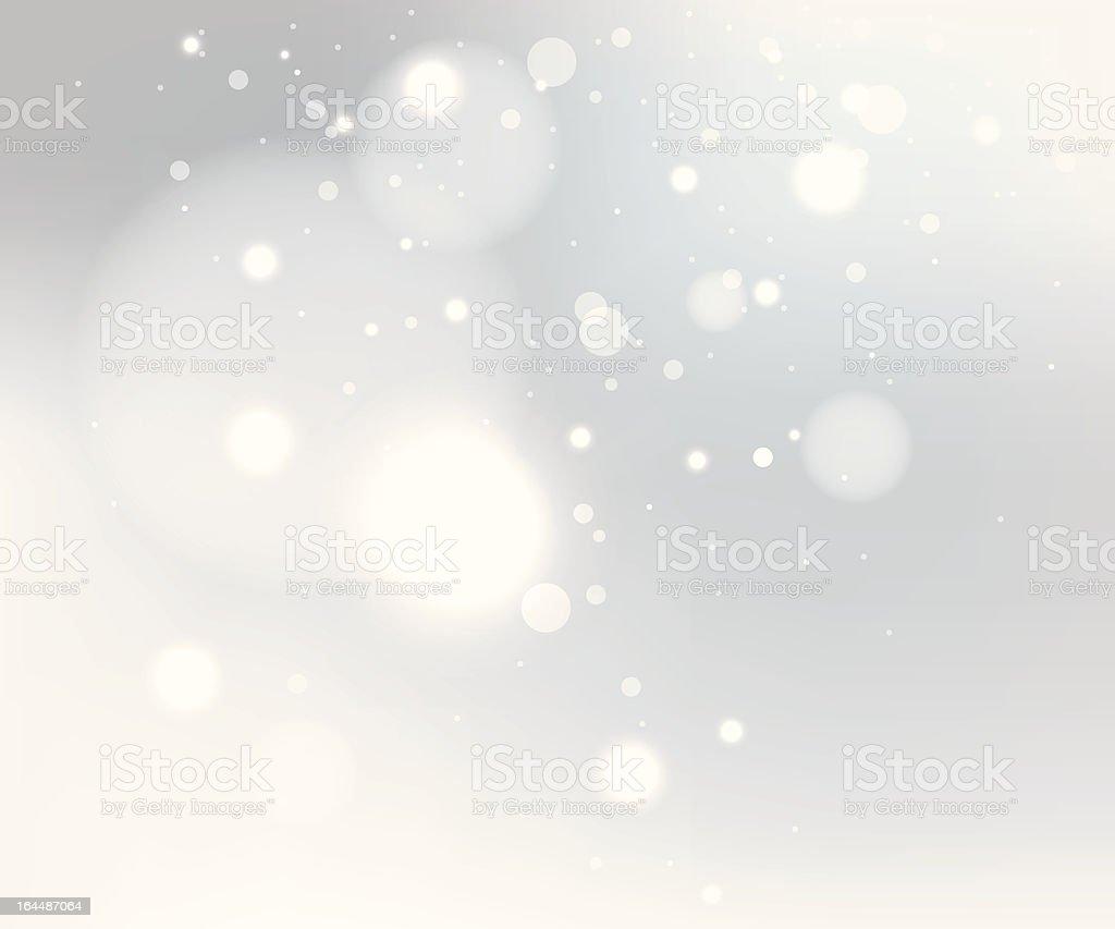 Snow gray background vector art illustration