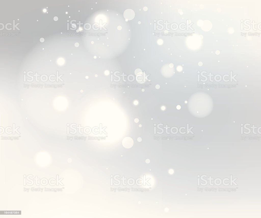 Snow gray background vector art illustration